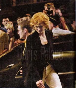 """Diana"" arriving at the Ritz"