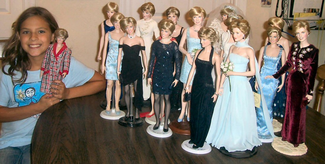 Why I started Collecting Diana Dolls: Franklin Mint ...